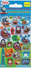 Thomas och Vännerna Klistermärken 6-pack