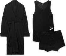 Secondskin - Noon Chill Travel Pyjama And Candle Set - Black - M,Secondskin - Noon Chill Travel Pyjama And Candle Set - Black - XXL,Secondskin - Noon Chill Travel Pyjama And Candle Set - Black - XL,Secondskin - Noon Chill Travel Pyjama And Candle Set - Bl