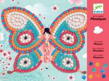 Mosaik - fjärilar (från Djeco)