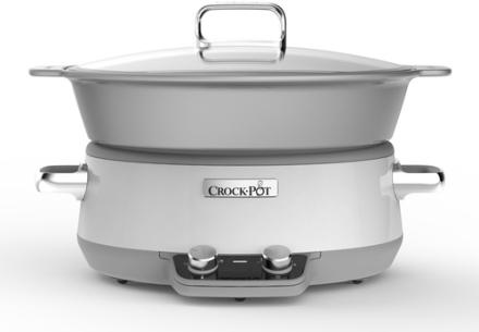 Crock-Pot 6,0L DURACERAMIC. 3 stk. på lager