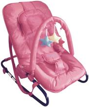 Kaxholmen - Babysitter Med Lekbåge Och Huvudkudde - Rosa