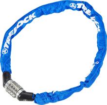 Trelock BC 115 Code Chain Lock 60 cm blue 2020 Kombinationslås