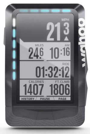 Wahoo Fitness Elemnt Navigationsudstyr sort 2018 GPS apparater