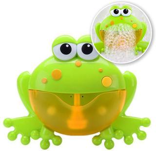 Grodan - Badleksak med automatiska bubblor