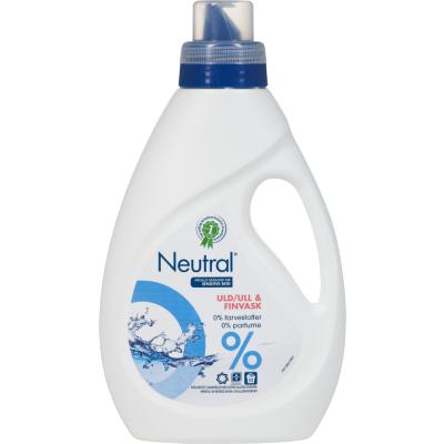 Neutral Flydende Uld & Finvask 750 ml