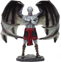 Blood Moon Vampire Statue 21cm Håndmalt og polert