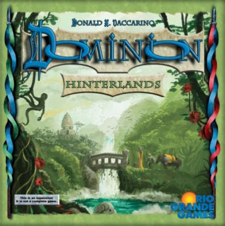 Dominion Hinterlands Utvidelse Expansion til Dominion Brettspill