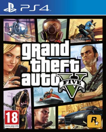 Grand Theft Auto GTA 5 PS4 GTA V