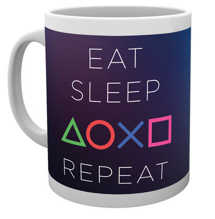 PlayStation Kopp Eat Sleep Repeat