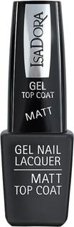 IsaDora Gel Nail Lacquer Matt Top Coat, 6 ml IsaDora Neglelakk