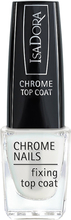 IsaDora Chrome Nails Fixing Top Coat, 6ml IsaDora Nagellack
