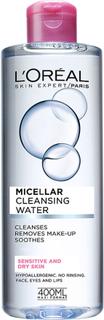 L'Oréal Paris Micellar Cleansing Water Sensitive/Dry Skin, 400 ml L'Oréal Paris Sminkefjerner