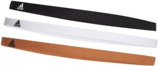 adidas Hårband 3-Pack Strumpor - Svart/Vit/Orange