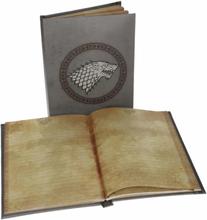 Game of Thrones , Anteckningsbok med ljuseffekt - Stark