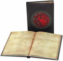 Game of Thrones , Anteckningsbok med ljuseffekt - Targaryen