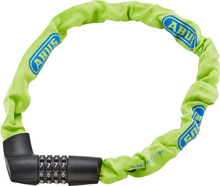ABUS Tresor 1385/75 Chain Lock neon green 2020 Kombinationslås