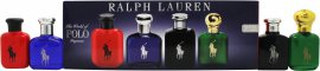 Ralph Lauren Miniature Presentset 15ml Polo EDT + 15ml Polo Blue EDT + 15ml Polo Black EDT + 15ml Polo Red