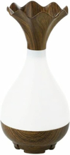 eStore Jade Bottle aromaterapi luftfuktare och lampa - Trä