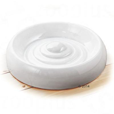 Lucky-Kitty Matskål av keramikk - 300 ml, Ø 18 cm