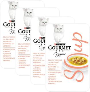 Gourmet Soup 4 x 40 g - Tunfisk & sardiner