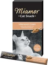 Miamor Cat Snack Leberwurst-Cream - 66 x 15 g