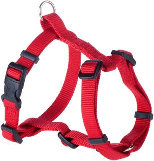Hunter Sæt: sele + hundesnor Ecco Sport Vario Rapid - rød - Sele str. M + snor 200 cm lang, 15 mm bred