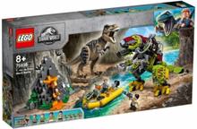 LEGO Jurassic World - Strid mellan T. rex och dinosaurierobot