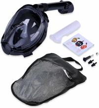 eStore Helmask cyklop och snorkel med GoPro fäste - S/M