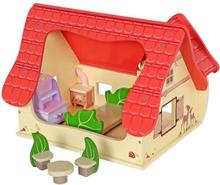Sprookjes Poppenhuis inclusief accessoires