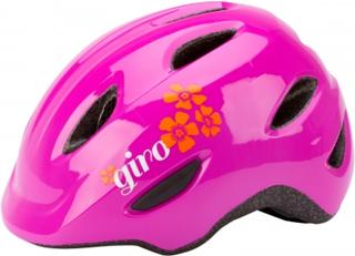 Giro Scamp børnecykelhjelm - Pink blomst
