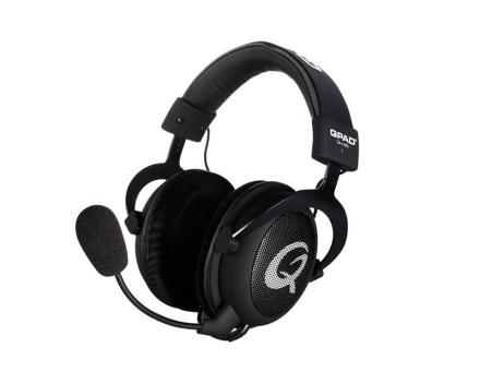 QH-85 Open Gaming Headset - Black