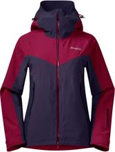 Bergans Oppdal Insulated Women's Jacket Dame skijakker fôrede Rød M