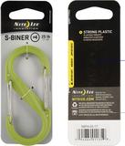 Nite Ize S-Biner Plast # 4 - Lime
