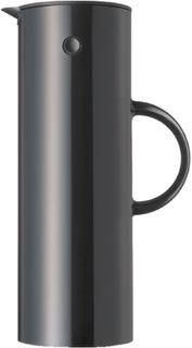 Stelton termoskanna 1 liter - flera färger Svart (blank) Stelton