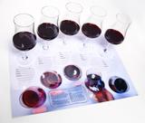 Vinprovarunderlägg 4-pack Sniff and taste