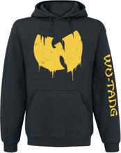 Wu-Tang Clan - Sliding Logo -Hettegenser - svart