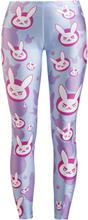 Overwatch - Wild Bangarang - D.VA Bunny -Leggings - flerfarget