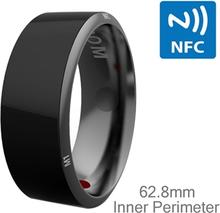 Jakcom R3 NFC älysormus - Terveyden seuranta - Puhelut - Jako - Miesten koko 62,8