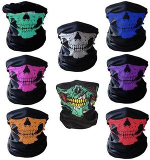 Skelett Mask / Scarf / Halsduk | Halloween - Skeleton Mask