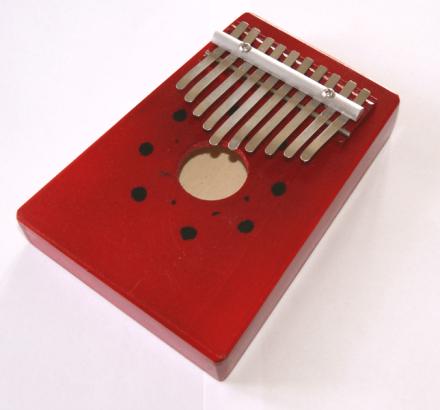 """Kalimba, """"tum-piano"""". 10 tangenter"""