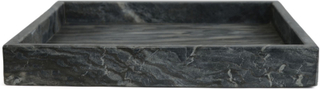 Senso bricka kvadrat marmor grå