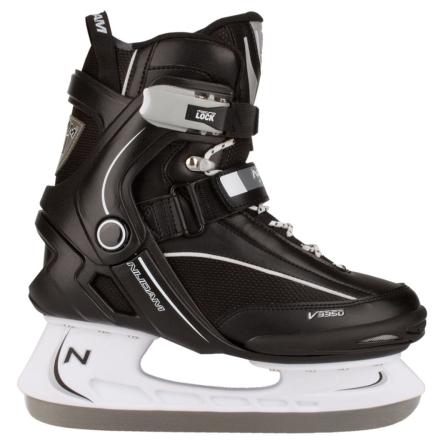 Nijdam Ishockeyskøyter størrelse 44 3350-ZWW-44