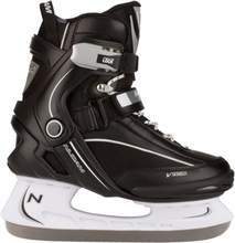 Nijdam Ishockey skøjter Størrelse 40 3350-ZWW-40