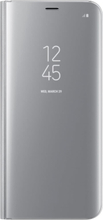 Alpexe Samsung Galaxy S8 Plus Clear View Standing Cover - Silver
