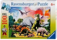 Dinosaur Puzzle XXL 100pcs