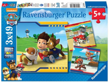 Paw Patrol heroes with fur 3x49pcs