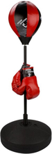 Avento Junior Reflex Päronboll svart/röd 41BE