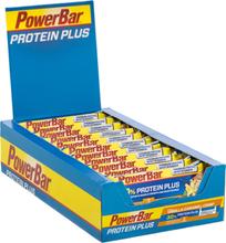 PowerBar ProteinPlus 30% Bar Box 15x55g Caramel Vanilla Crisp 2020 Näringstillskott & Paket