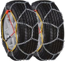 vidaXL 2 st. snökedjor för bildäck 12 mm KN 100