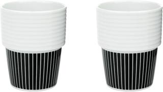 Filippa K Kaffemugg 31 cl Pinstripes 2 st